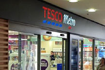 retail construction for Tesco by Sovereign
